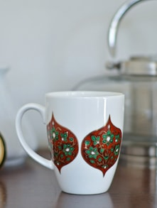 Flower Diamonds Coffee Mug - India Circus