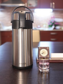 Silver Stainless Steel Bottle - Freelance