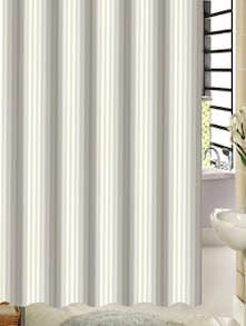 Elegant Shower Curtain With Stripes - Freelance