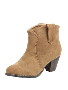 Ankle Brown Boots - COBBLERZ