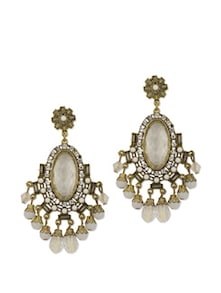 Artful Antique Gold Earrings - YOUSHINE