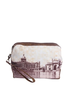 Apollo Bunder Travel Pouch - The Bombay Store