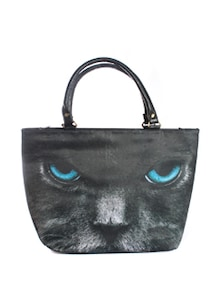 Black Cat Tote Bag - Mesmerizink