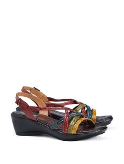 Long Braid Strappy Sandal - CATWALK