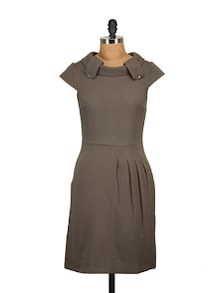 Stylish Brown Dress - Tops And Tunics