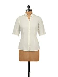 Classic White Shirt - Tops And Tunics