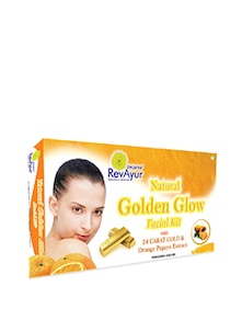 Golden Glow Facial Kit - RevAyur