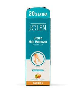 Sandalwood Extracts Hair Remover for Dry Skin (20% Extra) - Jolen