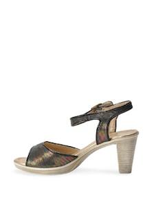 Glamorous Black Block  Heels - La Briza
