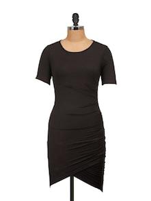 Long Black Bodycon Dress - Harpa