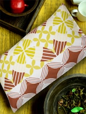 Twin Printed Yellow Pillow Cover - HOUSE THIS