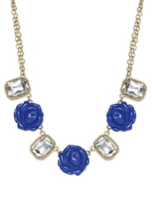 Blue Rose Neckpiece