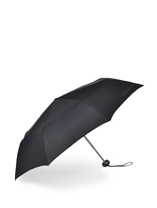 Black & Silver Compact Umbrella
