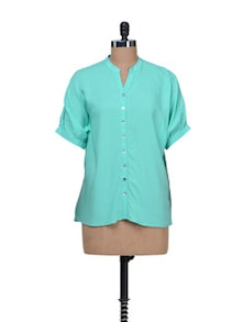 Simple Turquoise Shirt - AND