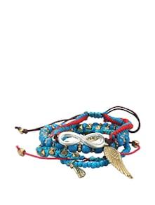 Trendy Blue Bunch Bracelet - Blueberry