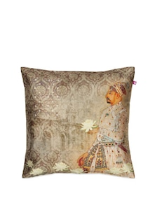 The Nawabs Sonnet Poly Taffeta Cushion Cover - India Circus