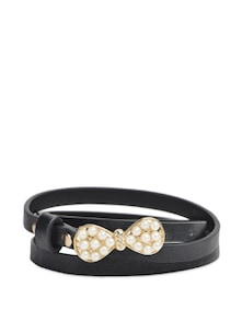 Black & White Pearlite Belt - YOUSHINE