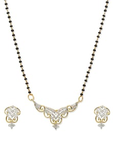 Gracious Mangalsutra Pendant - Vendee Fashion