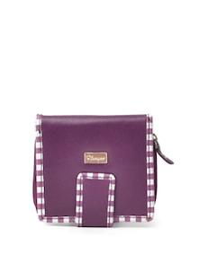 Purple Ladies Wallet - Foligno