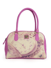 Pink Pocket Watch Handbag