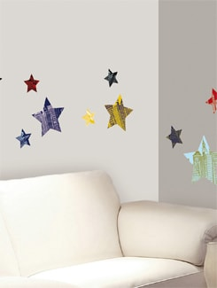 Star City Wall Sticker - Freelance