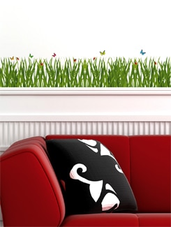 Pretty Meadow Wall Sticker - Freelance