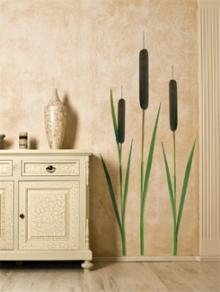 Tall Reed Wall Sticker - Freelance