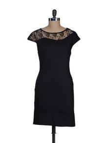 Lace Love Black Dress - Besiva