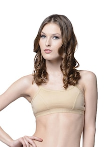 Skin Colored Yoga Bra - Lady Lyka