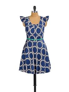Blue Beauty Summer Dress - Mishka
