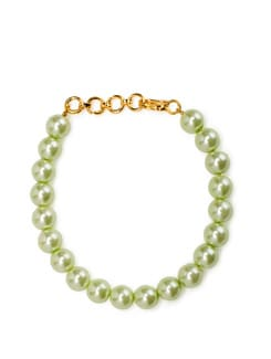 Mint Green Korean Pearl Bracelet - Arvokas