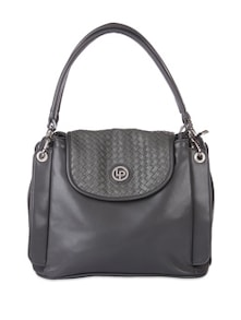 Charcoal Grey Handbag - Lino Perros