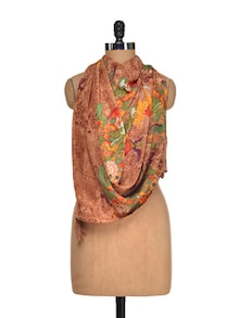 Print Play Silk Scarf - I AM FOR YOU