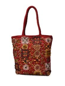 Red Boho Bag - Art Forte