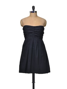 Black Bustier Dress - La Zoire