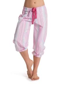Striped Secrets Cropped Pajamas - PrettySecrets