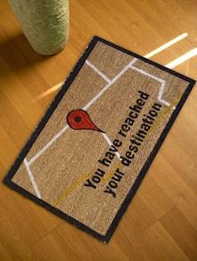 Google Geeky Floor Mat - Mats Matter