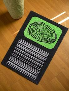 Finger Print Floor Mat - Mats Matter