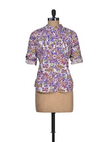 Garden Party Floral Shirt - Silk Weavers