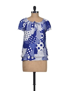Summer Sassy Polyester Top - Silk Weavers