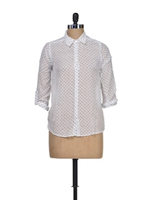 Summer Chic Cotton Shirt - Silk Weavers