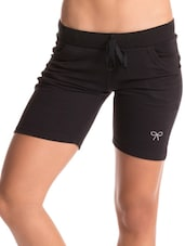 Black Work-Out Shorts - PrettySecrets
