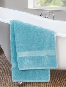 Solid Blue Bath Towel - Esprit