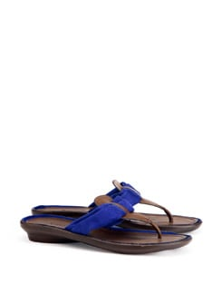 Brown And Blue Sandals - CATWALK