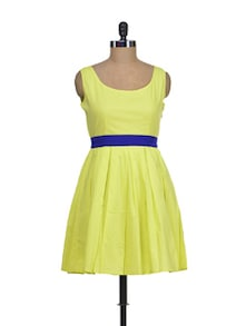 Flirty Yellow Sundress - Miss Chase
