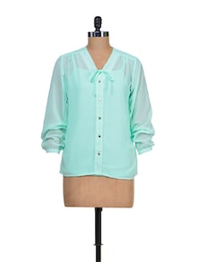 Sea Green Shirt - Meee