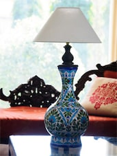 Patterned Surahi Lamp without Lampshade -  online shopping for Table Lamps