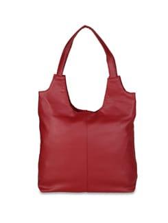 Slouchy Black Handbag - ALESSIA