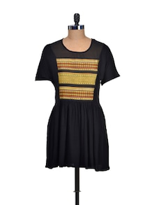 Bold In Black Summer Dress - Mishka