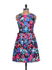 Floral Fantasy Summer Dress - Mishka